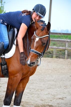 Eenwoording tussen ruiter en paard met behulp van goede training