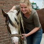 Chantal is dierenarts en chiropractor en acupuncturist